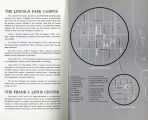 DePaul University Campus map, 1968