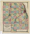 Atlas of Illinois. Counties of Cook, Du Page, Kane, Kendall and Will